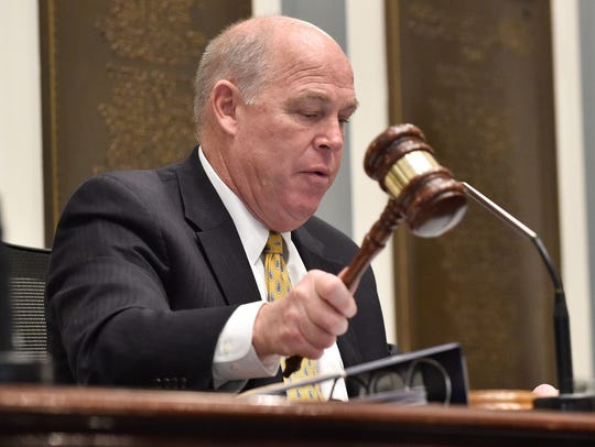 Speaker of the House Pete Schwartzkopf, D-Rehoboth, opposed a bill to give Delaware's three casinos a $20 million-a-year tax break. The House on Thursday passed a compromise bill that would reduce that amount to $16.8 million.