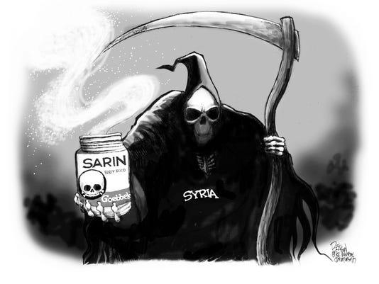 Syria's sarin-gas nightmare
