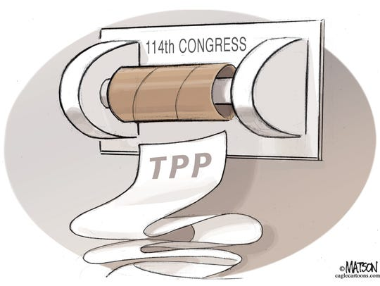 Congress is out of TPP.