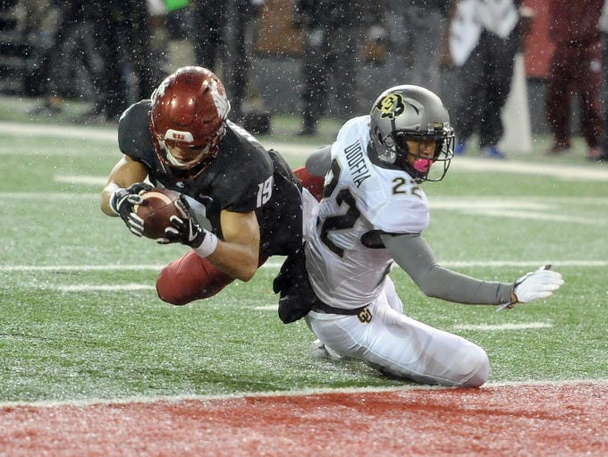 Washington State Cougars wide receiver Brandon Arconado
