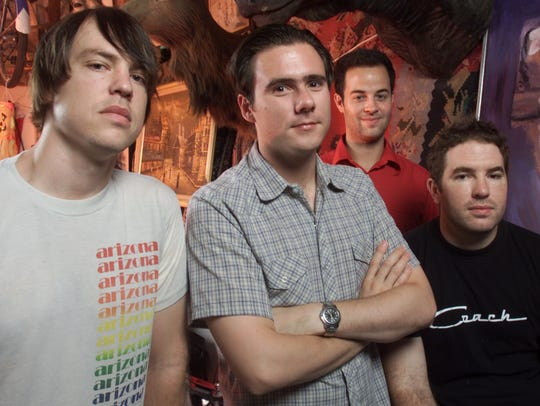 Jimmy Eat World from left to right are: Rick Burch,