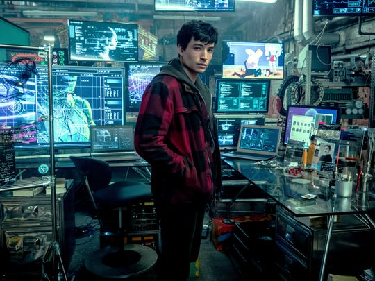 Barry Allen (Ezra Miller) is an addition to the world