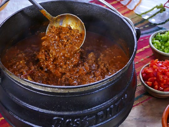 Chili is perfect for a family or a crowd.