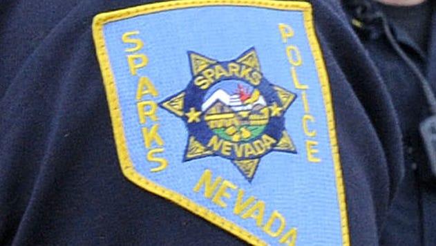 Sparks police patch