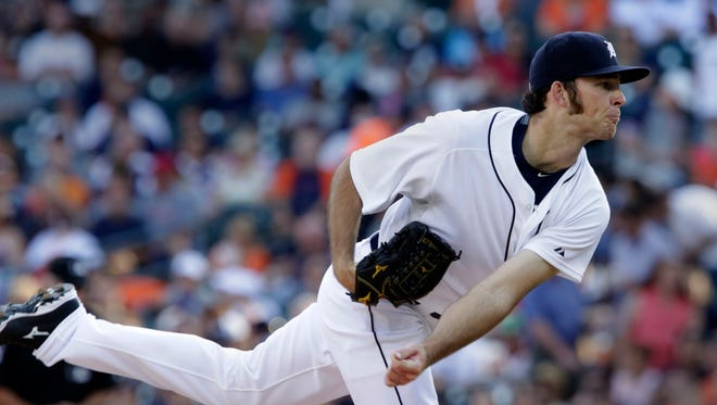 Detroit Tigers pitcher Kyle Ryan.