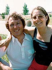 Lyman and Charlene Smith pose for a photo in Ventura in the late 1970s. The married couple were found dead in their home on High Point Drive in March 1980 but authorities said their suspected killer was arrested on Tuesday.