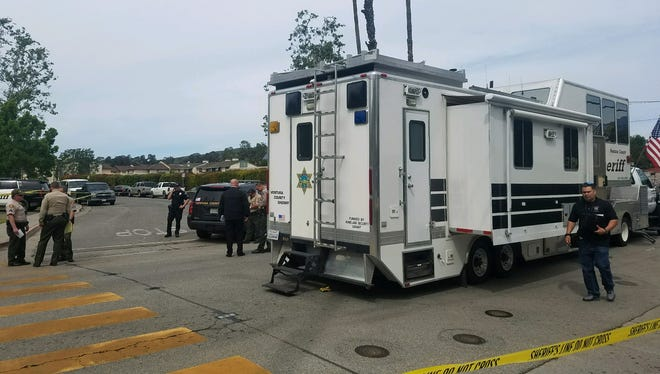 Authorities are on scene of an officer-involved shooting that occurred Sunday morning in Santa Paula.