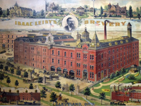 The Isaac Leisy Brewery was located in Cleveland.