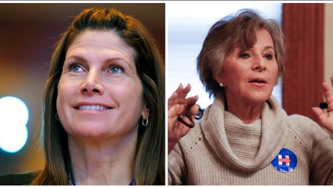 Mary Bono and Barbara Boxer allege sexual harassment in Congress.