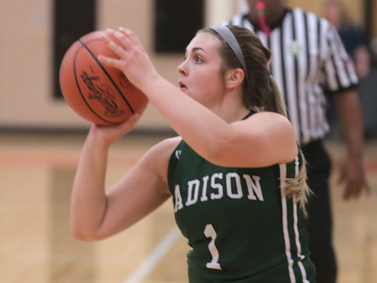 The Ashland girls basketball team was host to Madison