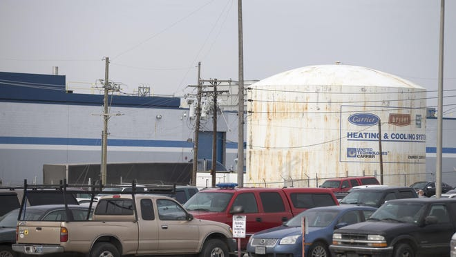 Carrier announced this year that it will be ramping down operations at the west-side facility over the next three years before sending jobs to Mexico.