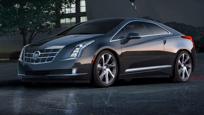 The Cadillac ELR luxury electric coupe is one of the products made at GM's Hamtramck plant