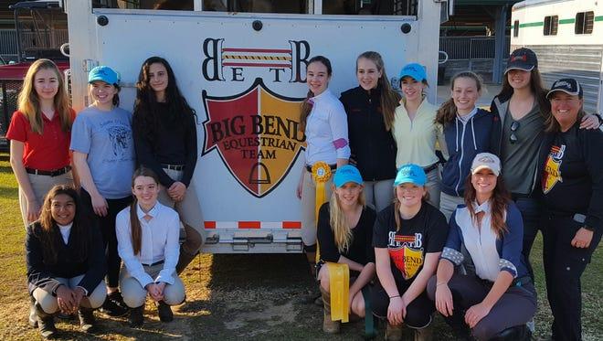The Big Bend Equestrian High School Team