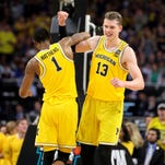 Michigan's Moritz Wagner wouldn't be denied in Final Four win over Loyola