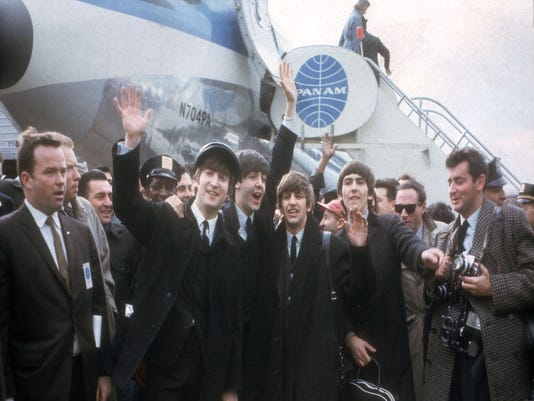The Beatles at JFK