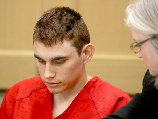 Nikolas Cruz appears in court for a status hearing