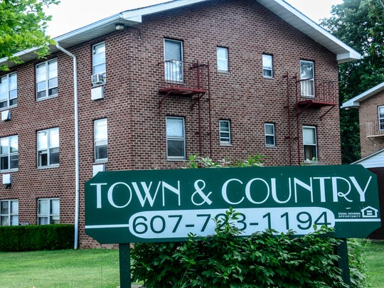 Town & Country Apartments, on Roberts Street in Binghamton.