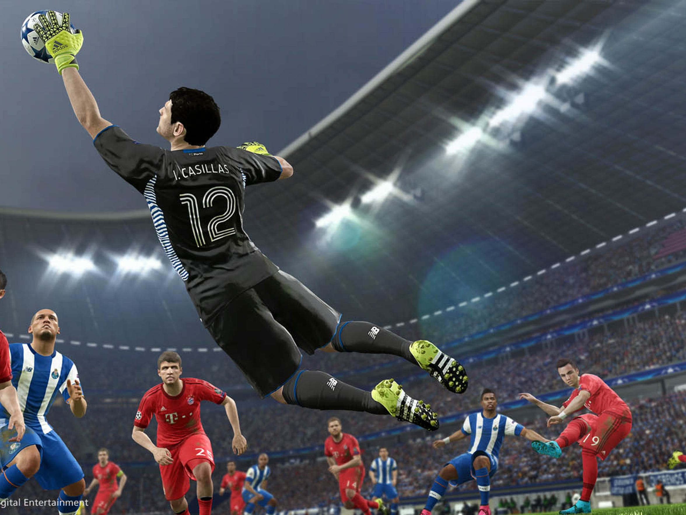 Pro Evolution Soccer 2016 fine tunes its solid mechanics