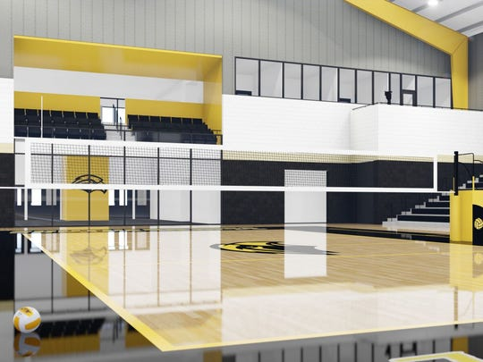 Southern Miss announced plans to construct a 26,000-28,000