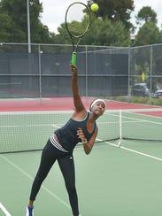 O'Gorman High School tennis standout Danielle Sebata