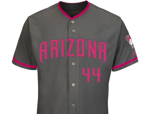 Diamondbacks get new uniforms for Mother's Day, Father's Day