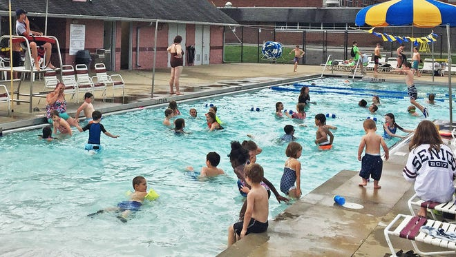 Beat the summer heat at the Fairview Rec Center pool.