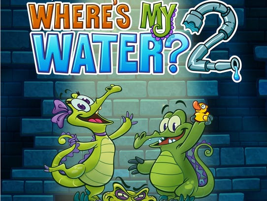 Where's My Water Title Page