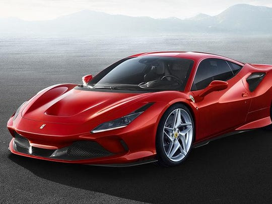 Ferrari will bring the F8 Tributo, a turbocharged V-8