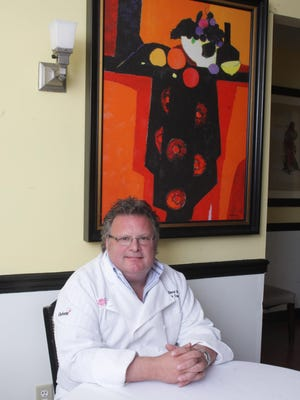 Chef David Burke, formerly of Fromagerie in Rumson.