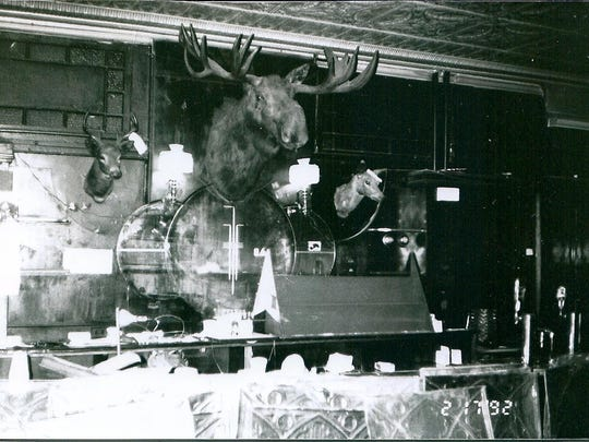 Pictured here is the interior of Zoo Bar in Milford.