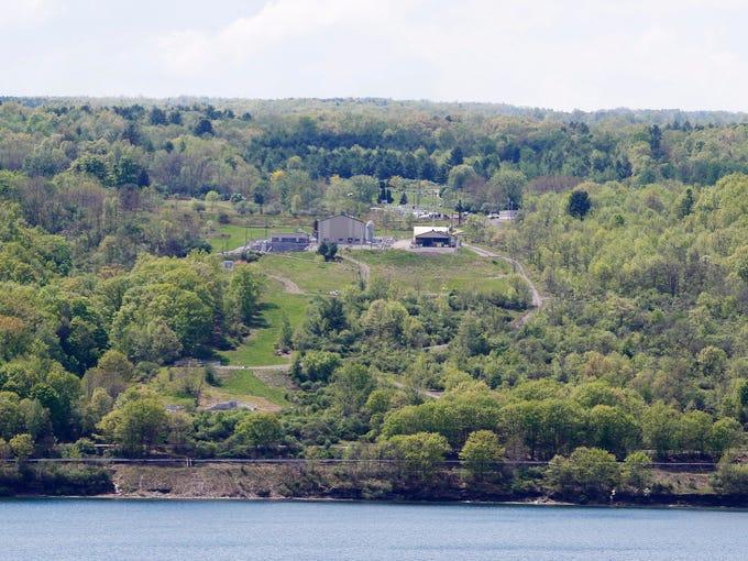Crestwood Midstream sits among the terrain on Seneca