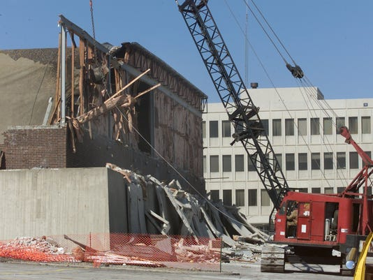 RIVER HILL AND RIVIERA THEATERS DEMOLISHED