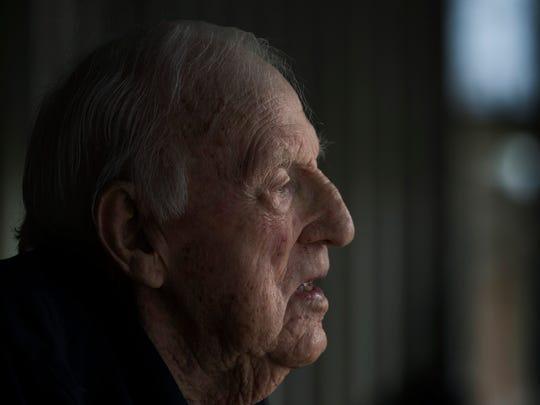 Bill Kelly recalls the kamikaze attacks on the USS Laffey.