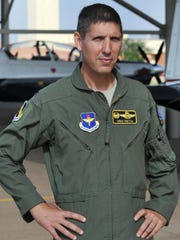 Col.Gregory Keeton, commander of the 80th Flying Training