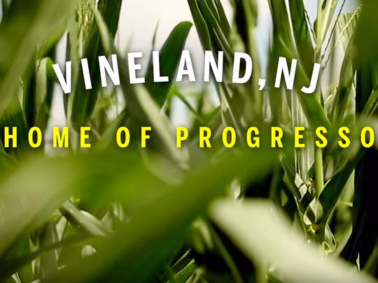 A screenshot of the Progresso Soup commercial featuring Vineland.
