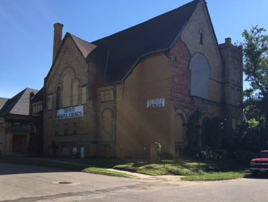 A church at 168 Buckingham Ave. will be demolished.