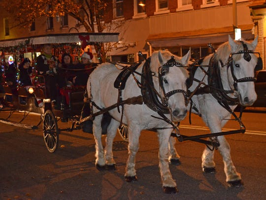 The 15th annual Soul of the Season featured carriage