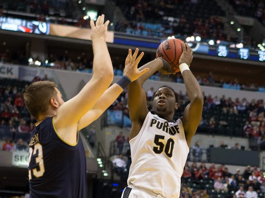 Purdue's Caleb Swanigan has won back-to-back Big Ten Player of the Week honors.