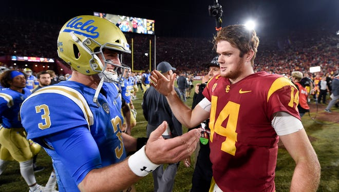 Could Josh Rosen or Sam Darnold be the Cardinals' first round 2018 NFL draft pick?