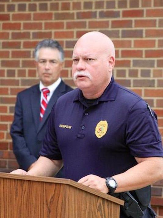 Police Chief Mark Thompson