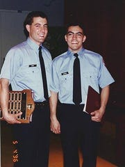 Lt. Dennis DeVoe (left) and Capt. Brian Bastinelli