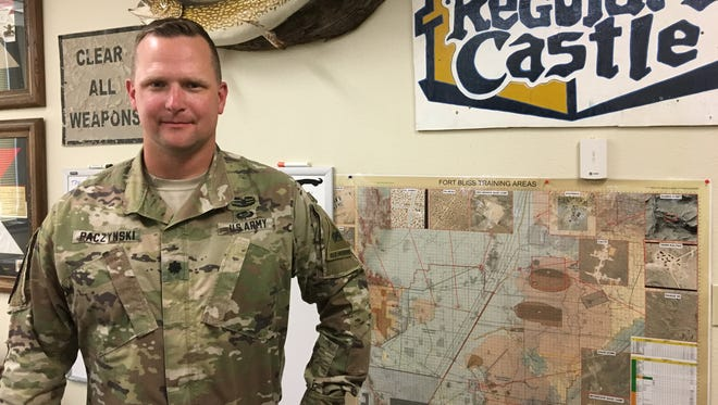 Lt. Col. Mark Paczynski led the 4-6 Infantry on a deployment to Kuwait. Since it's been back, his unit served as the opposing force for Iron Focus.