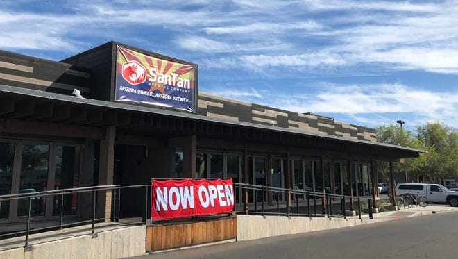 SanTan Brewing Company opened its second location in the former Z'Tejas in central Phoenix.