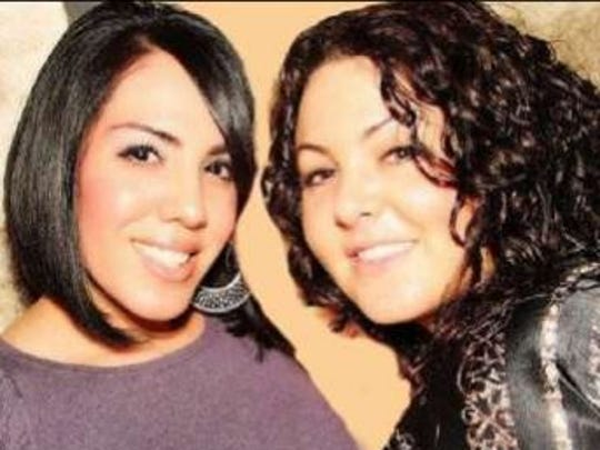 Melissa Mason (left) and Nicole Glass were found murdered