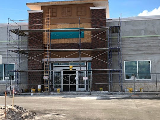 Construction continues on what will be the new Tuesday Morning store in Titus Landing. The store is expected to open in February.
