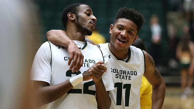 Guards J.D. Paige and Prentiss Nixon are the top returning players for the CSU men's basketball team in 2017-18. The full schedule won't be out for months, but the Rams learned they'll play a road game at Missouri State on Nov. 28 as part of the Mountain West/Missouri Valley Challenge.