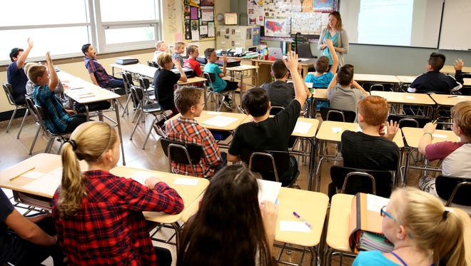 Class sizes are expected to grow in Salem-Keizer during the 2017-2018 school year.