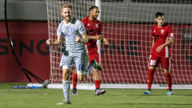 Reno 1868 FC midfielder Chris Wehan was named the United Soccer League Rookie of the Year on Tuesday.