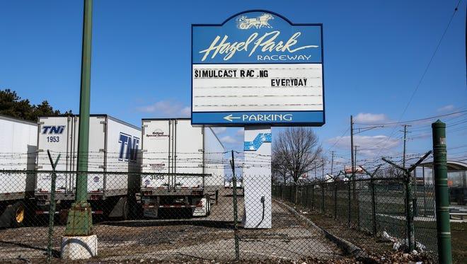 Hazel park Raceway ditutup pada 2018.