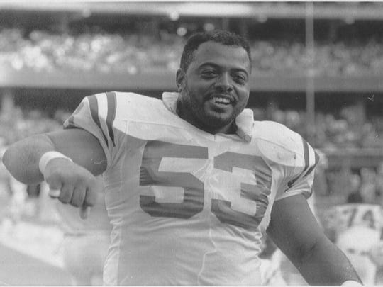 1990 staff file photo Of  Indianapolis Colt Ray Donaldson